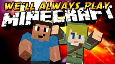 """""""We'll Always Play Minecraft"""" - A Minecraft Parody of Royals by Lorde Cover by Chrisandthemike and Carflo"""