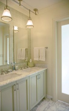 Carrara Marble    Double Sinks Small Design, Pictures, Remodel, Decor and Ideas - page 2