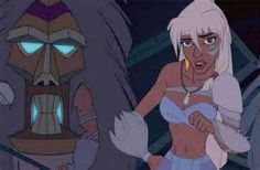 *KIDA ~ ATLANTIS: The Lost Empire, 2001