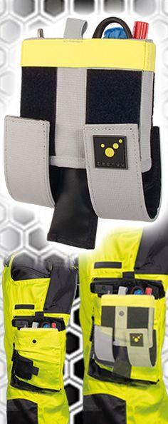 CARGO Holster - für alle, die kein Holster tragen! Einzigartig und die Idee des Holsters neu gedacht – so bringt das CARGO Pocket-Holster Ordnung in die Beintasche der Diensthose. Stifte, Pupillenleuchte und mehr finden in den Elastikschlaufen des Holsters Platz und sind sekundenschnell greifbar. Für z. B. die Kleiderschere ist das CARGO mit einem durchstichgeschützten Einsteckfach ausgestattet. - unsichtbar: Holster für die Beintasche der Einsatzhose - aufgeräumt: praktische… Pocket Holster, Helfer, Emergency Medical Services, Pens, Fire Department, Unique