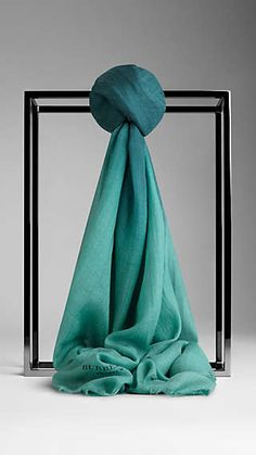 Ombre Print Cashmere Scarf