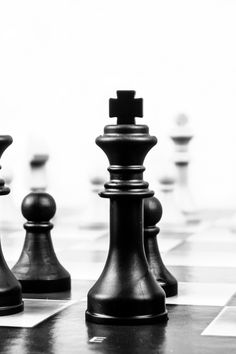 New free photo from Pexels: https://www.pexels.com/photo/playing-game-power-strength-40796 #black-and-white #game #chess