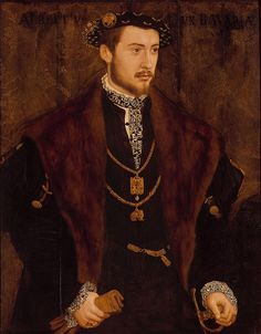 Albert V (German: Albrecht V.) (29 February 1528 – 24 October 1579) was Duke of Bavaria from 1550 until his death. He was born in Munich to William IV and Marie Jacobaea of Baden.