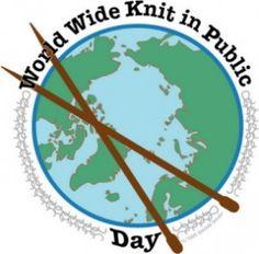 World Wide Knit in Public Day  Wereld Wijde Breien in het Openbaar Dag