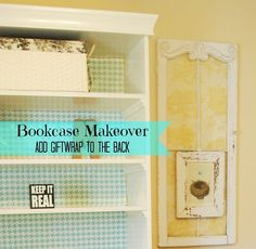 Working On My Guest Bedroom to Office Makeover  – Bookcase Makeover and some craft organization ideas
