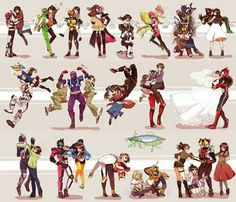 Kamen Riders with Female Companions #kamenrider #tokusatsu