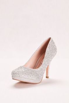 d0a3b9b528a Strappy Crystal Platform Sandal by Blossom VIVA2