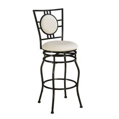 Linon Townsend Black Adjustable Stool - Overstock Shopping - Great Deals on Linon Bar Stools