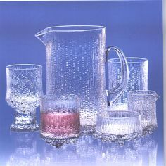 Ultima Thule by Iittala, Finland- classic Finnish glassware. My souvenir from Finland I think!