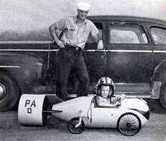 Sailors kids pedal car bomb