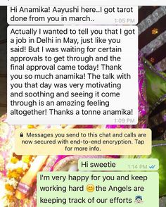 "anamika rana on Twitter: ""Client testimonial after her tarot reading 🙏#PositiveVibes https://t.co/RtFsFRV8Ry"""