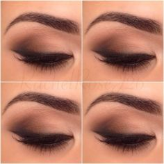 Subtle everyday smokey eye: