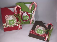 Stamping Alamode: Scentsational Season cocoa packets