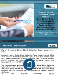 Blood Collection Tube Market- Recommended Strategies and Viewpoint