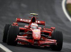Kimi Räikkonen, Ferrari F2007, Brazilian GP, 2007