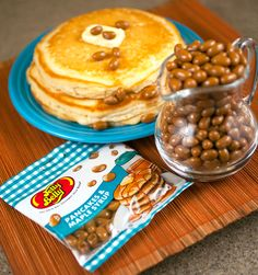 Rich and buttery, sweet and savory. Try Pancakes & Maple Syrup Jelly Belly beans today! Jelly Belly Beans, Jelly Beans, Candy Recipes, Gourmet Recipes, Jelly Bean Image, Jelly Bean Flavors, Recipe Icon, Homemade Pancakes, Maple Syrup