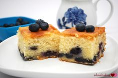 blueberry mochi cake–yes cake!