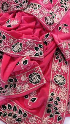 Alexander Mcqueen Scarf, Designer Punjabi Suits, Velvet, Pure Products, Fashion, Moda, Fashion Styles, Fashion Illustrations