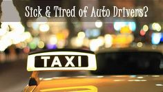 Get Away from the Nuisance of Rowdy Auto Drivers in India and Take a Taxi for the Same Fare. Meru Cabs is Running Promotions that will Save You Money.
