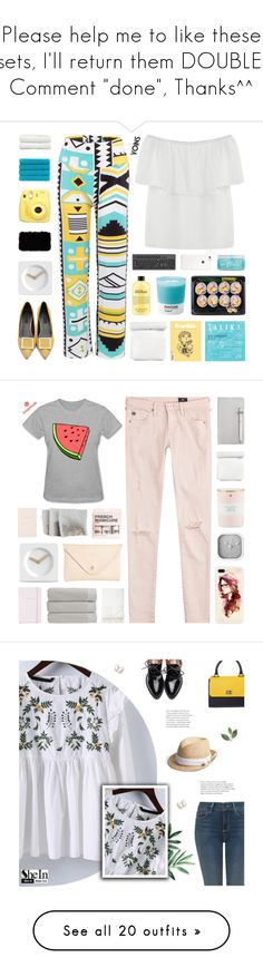 """Please help me to like these sets, I'll return them DOUBLE, Comment ""done"", Thanks^^"" by paradiselemonade ❤ liked on Polyvore featuring Talika, H2O+, Pantone, philosophy, LEFF Amsterdam, Fujifilm, Donna Karan, Christy, Linum Home Textiles and AG Adriano Goldschmied"