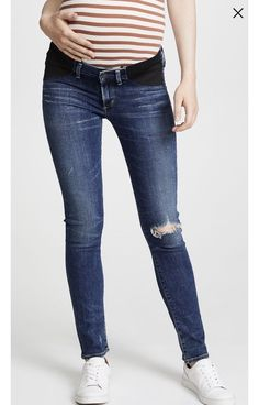 213c9763e436ed Citizens of Humanity Racer Ultra Maternity Jeans Size 29 #fashion #clothing  #shoes #