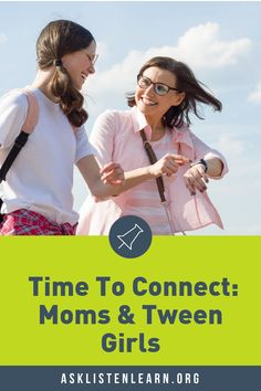 Want a closer relationship with your tween? - Ask, Listen, Learn Teacher Lesson Plans, Free Lesson Plans, Health Teacher, Mother Daughter Relationships, 6th Grade Science, Letter To Parents, Educational Games For Kids, School Counselor, Tween Girls