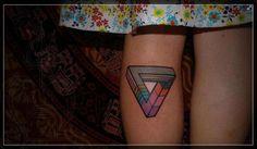 inverted triangle tattoo - Buscar con Google