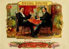Cigar box labels.