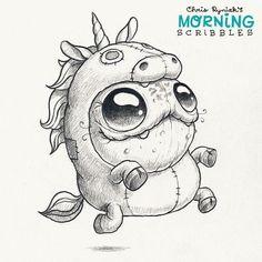 Morning Scribbles. Cute art by Chris Ryniak Follow Chris Ryniak on facebook and Instagram. ;) http://chrisryniak.com/ https://www.facebook.com/pages/Chris-Ryniak/68169468627