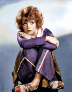 Clara Bow Projection for 'I Can See Me' Opening Number- clock those shoes!