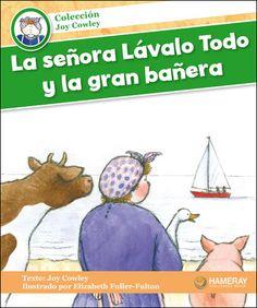$5.95 La señora Lávalo Todo y la gran bañera: La señora Lávalo Todo y sus animales toman el tren del Sol Radiante para ir al mar.