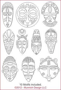 Munnich Design - Quilt Recipes: Digital Quilting Pattern - Browse All Patterns Más