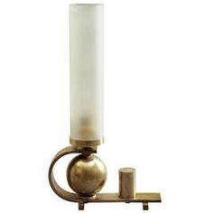 Rare Art Deco Period DIM (Joubert et Petit) Modernist Lamp ca.1930's