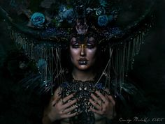 Make-up inspired by dustin bailard. Styling/ make-up/ model/ photo: candy makeup artist Buy a headdress? Click on the link