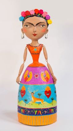 Paper Clay Art, Paper Mache Crafts, Fabric Dolls, Paper Dolls, Art Dolls, Origami, Paper Mache Sculpture, Candy Art, Diy Gifts For Kids