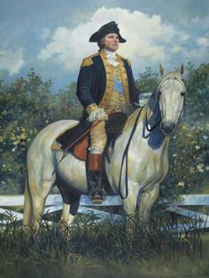 Heading Home to Mount Vernon by Pamela Patrick White by White Historic Art ~ 16 x 12 American Presidents, American Civil War, American History, American Independence, American Soldiers, Larp, Patriotic Pictures, American Revolutionary War, Postcard Art
