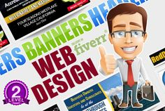 create 2 Sizes in 48hrs of an Amazing Web Banner, Header or Ba... by izhargraphics