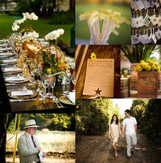 Rustic Wedding Inspiration Board #rustic #wedding