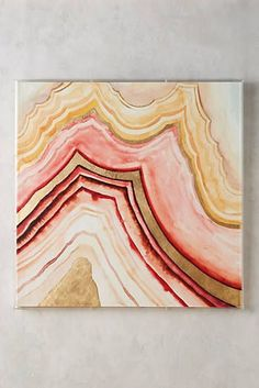 Golden Agate Wall Art