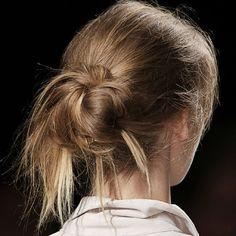 #Chignon spettinato: come farlo? - #hairstyles #capelli