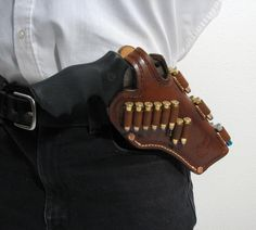 RUGER GP 100 CUSTOM LEATHER CROSS-DRAW HOLSTER Item: 9913789 | Mobile GunAuction.com