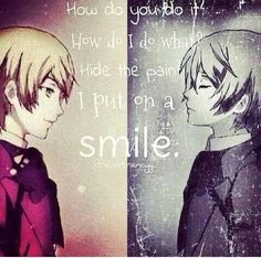 Don't worry Alois.... I put on a smile and hide the pain too