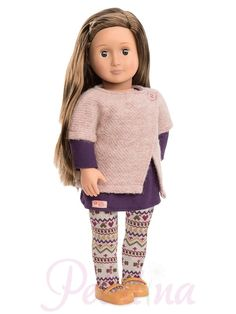 Our Generation Karmyn Doll Brown Hair & Eyes Outfit American Girl Shopkins, Girl Doll Clothes, Girl Dolls, Soft Brown Hair, Brown Eyes, Poupées Our Generation, Ropa American Girl, Og Dolls, Girl Hair Colors