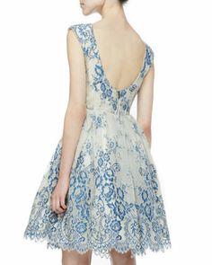 Alice + Olivia Fila Lace-Overlay Party Dress . http://www.neimanmarcus.com/Alice-Olivia-Fila-Lace-Overlay-Party-Dress/prod163900512_cat41710742__/p.prod?icid=&searchType=EndecaDrivenCat&rte=%252Fcategory.service%253FitemId%253Dcat41710742%2526pageSize%253D120%2526No%253D0%2526refinements%253D&eItemId=prod163900512&cmCat=product