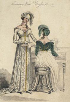 Regency Era Clothing | Regency Era Clothing: Regency Era Fashion Plate - March 1810 La Belle ...