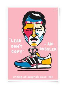Michael Arnold #Illustration #art #Sneakers #adidas