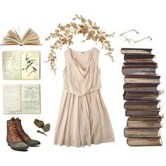 """We Read all Afternoon."" by melissalackey on Polyvore"