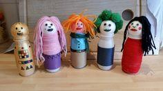 Actimel bottle people! :-)