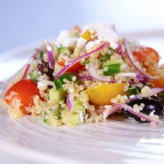 Greek Quinoa Salad Bobby Flay