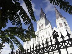 The St. Louis Cathedral is among the oldest cathedrals in the USA.
